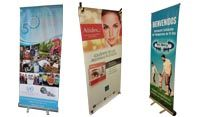 BANNERS TIPO ARAÑA Y ROLL UPS